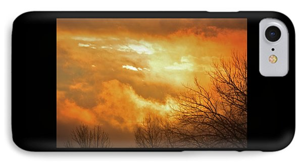 IPhone Case featuring the photograph Christmas Morning Sunrise by Diane Alexander