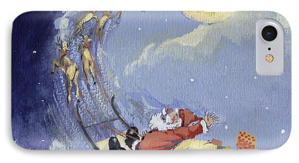 Christmas Night IPhone Case by David Cooke