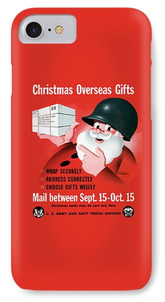 Christmas Overseas Gifts -- Ww2 IPhone Case by War Is Hell Store