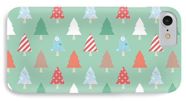 Christmas Pillow IPhone Case by Edward Fielding