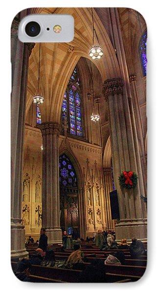 Christmas Prayers IPhone Case by Jessica Jenney
