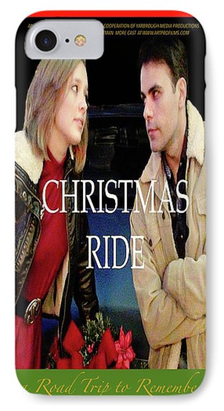 Christmas Ride Poster 16 Phone Case by Karen Francis