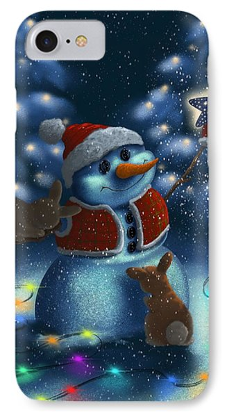 IPhone Case featuring the painting Christmas Season by Veronica Minozzi