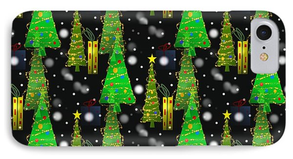 Christmas Snow Fall IPhone Case
