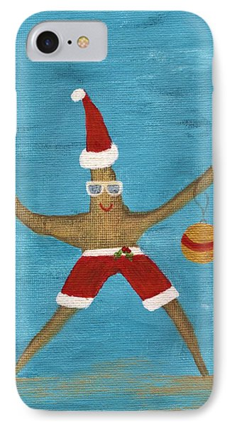 Christmas Starfish IPhone Case