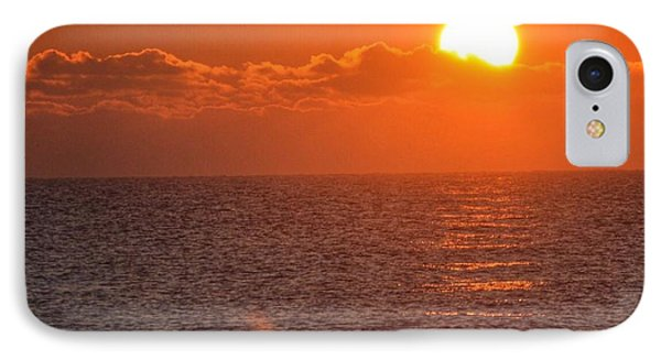 Christmas Sunrise On The Atlantic Ocean IPhone Case by Sumoflam Photography