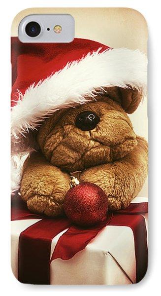 Christmas Teddy Bear Phone Case by Wim Lanclus