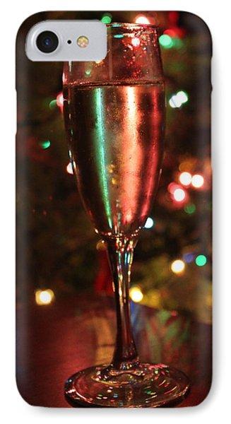 Christmas Toast Phone Case by Lauri Novak