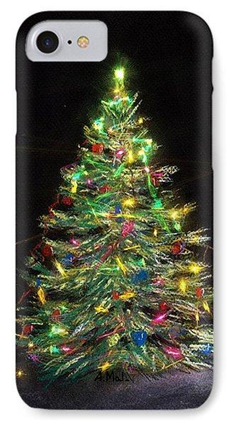 Christmas Tree - Illuminated IPhone Case