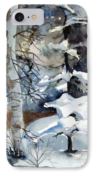 Christmas Trees Phone Case by Mindy Newman