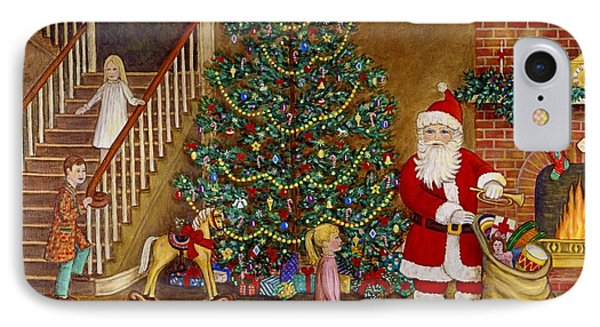 Christmas Visitor Phone Case by Linda Mears