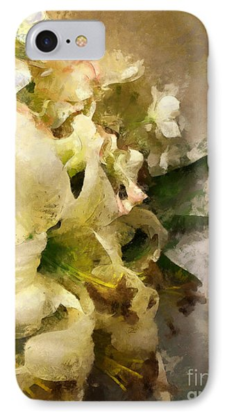 Christmas White Flowers IPhone 7 Case