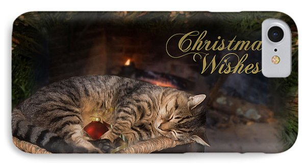 IPhone Case featuring the photograph Christmas Wishes by Robin-Lee Vieira