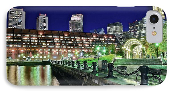 Christopher Columbus Park Reflects IPhone Case by Frozen in Time Fine Art Photography