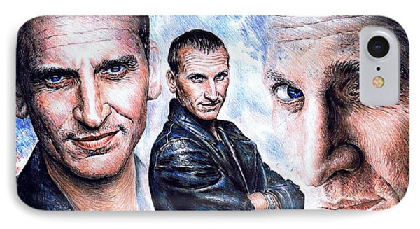 Christopher Eccleston IPhone Case by Andrew Read