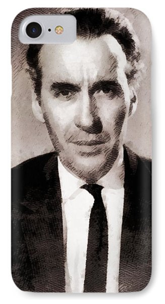 Christopher Lee, Actor IPhone Case by John Springfield