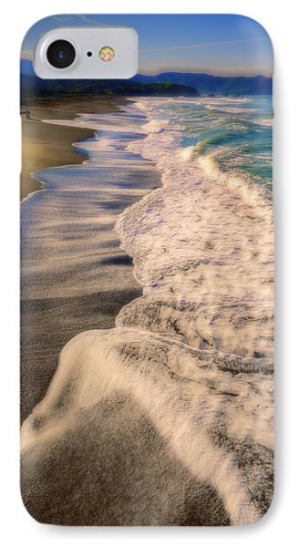 Chromatic Aberration At The Beach IPhone Case