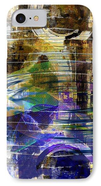 Chromatic Impulse IPhone Case by Art Di
