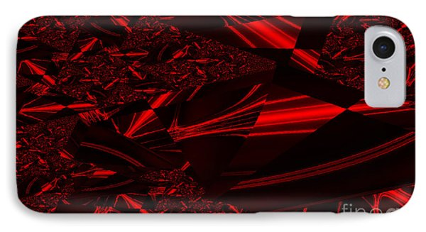 Chrome In Red Phone Case by Clayton Bruster
