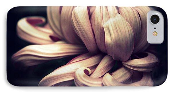 Chrysanthemum Curls IPhone Case