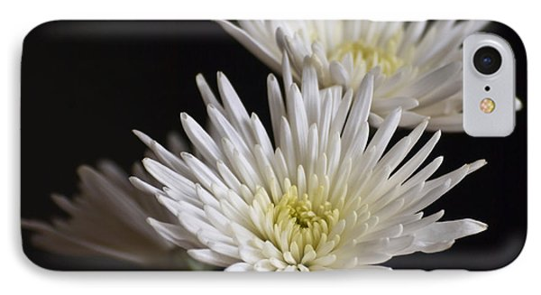Chrysanthemums Phone Case by Svetlana Sewell