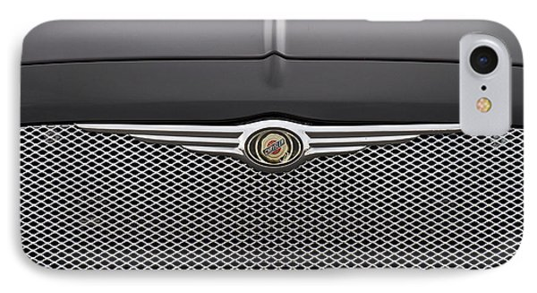 Chrysler 300 Logo And Grill IPhone Case by James BO  Insogna
