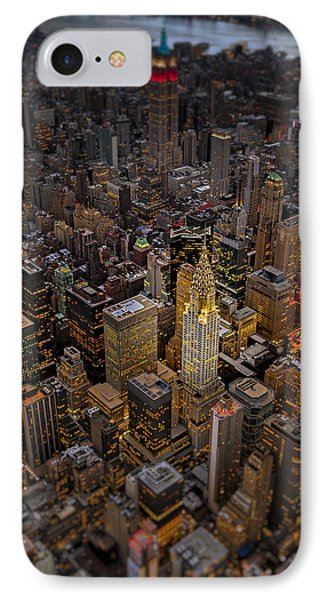 Chrysler Building Nyc Skyline IPhone Case by Susan Candelario
