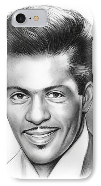 Rock And Roll iPhone 7 Case - Chuck Berry by Greg Joens