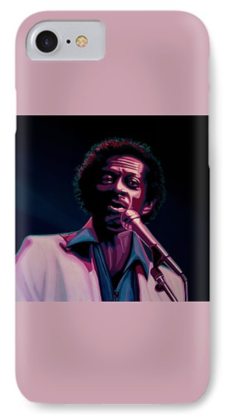 Chuck Berry IPhone 7 Case by Paul Meijering