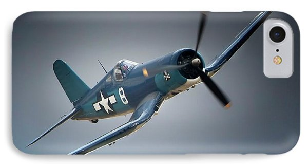 Chuck Wentworths F4u Corsair No.8 IPhone Case