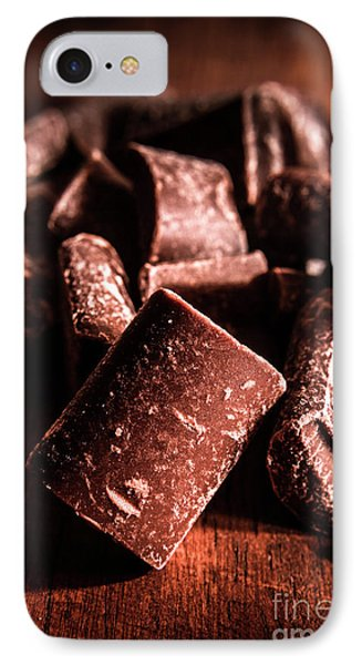 Chunky Milk Chocolate Confectionery IPhone Case by Jorgo Photography - Wall Art Gallery
