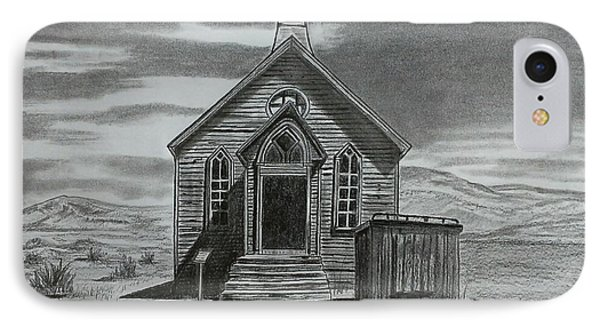 Church  At Bodie  IPhone Case by Tony Clark
