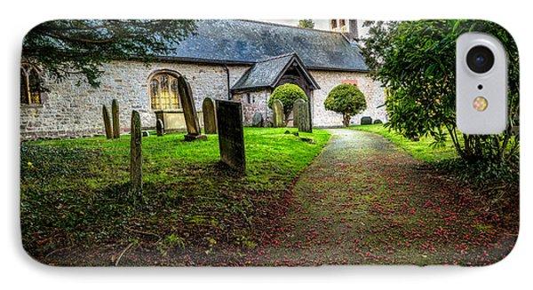 Church Berries IPhone Case by Adrian Evans