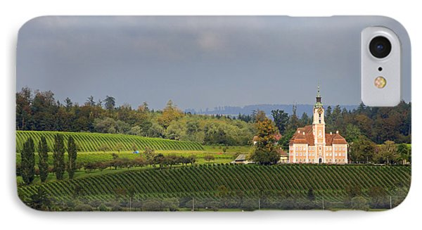 Church Birnau Lake Constance In Great Landscape IPhone Case by Matthias Hauser