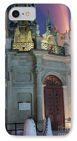 IPhone Case featuring the photograph Church Door by Juli Scalzi