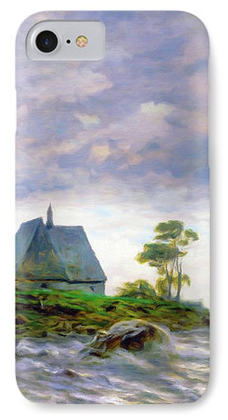 Church House By The Sea IPhone Case