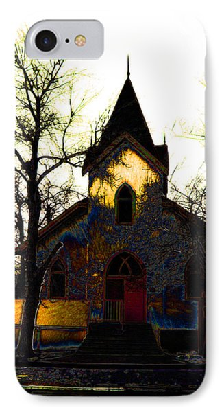 IPhone Case featuring the digital art Church I by Stuart Turnbull
