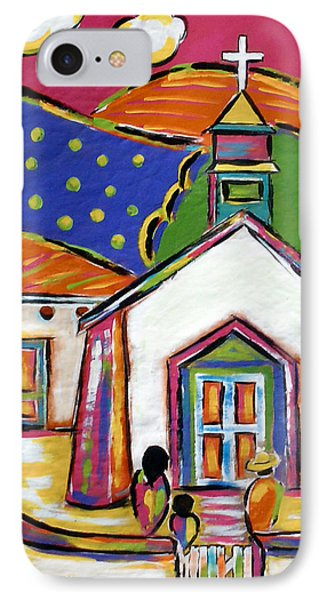 Church In Blanco IPhone Case