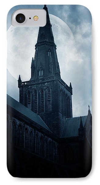 Glasgow Cathedral IPhone Case by Cambion Art