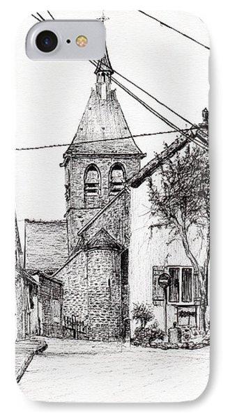 Church In Laignes IPhone Case