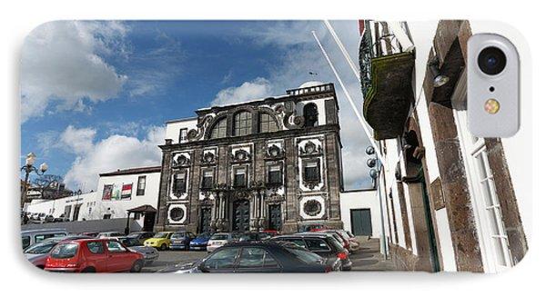 Church In Ponta Delgada Phone Case by Gaspar Avila