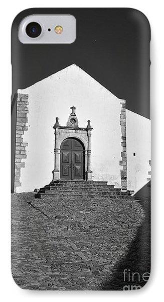 Church Of Misericordia In Monochrome IPhone Case