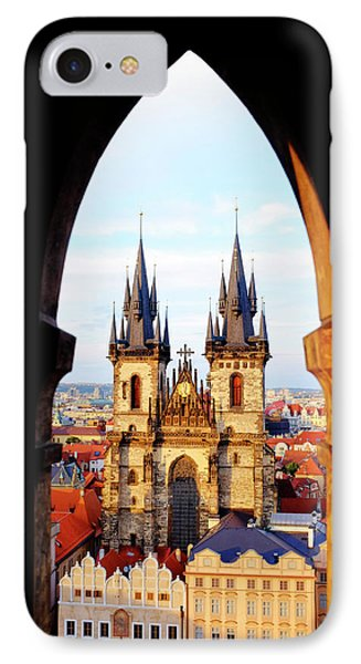 IPhone Case featuring the photograph Church Of Our Lady Before Tyn by Fabrizio Troiani