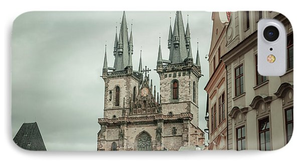 IPhone Case featuring the photograph Church Of Our Lady Before Tyn by Jenny Rainbow
