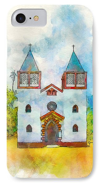 Church Of The Holy Family IPhone Case