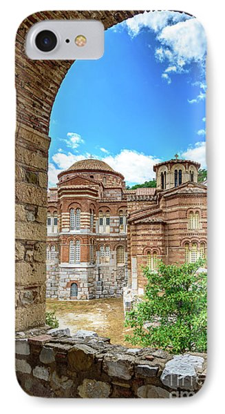 Church Of The Holy Luke At Monastery Of Hosios Loukas In Greece IPhone Case by Global Light Photography - Nicole Leffer