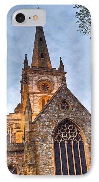 Church Of The Holy Trinity Stratford Upon Avon 2 Phone Case by Douglas Barnett