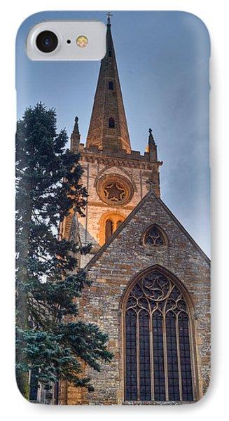 Church Of The Holy Trinity Stratford Upon Avon 4 Phone Case by Douglas Barnett