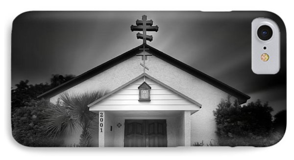 Church On A Cloudy Day IPhone Case by Mark Andrew Thomas