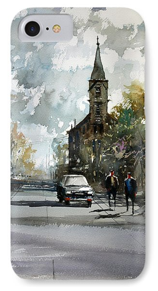 Church On The Hill IPhone Case by Ryan Radke